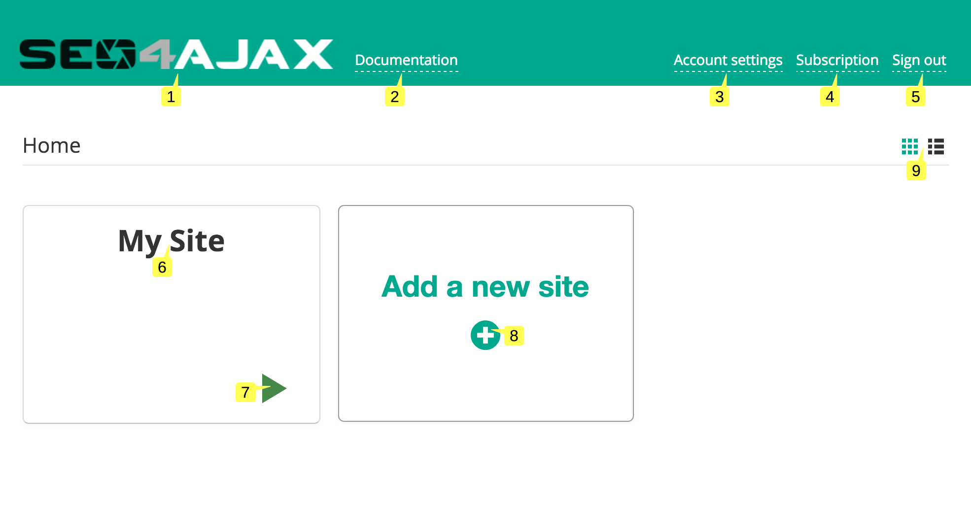 seo4ajax console documentation
